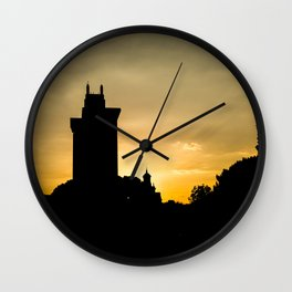 Colo Towers Wall Clock