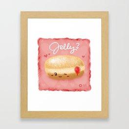 Jelly? Framed Art Print