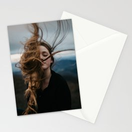 Symmetry Of Wind Stationery Cards