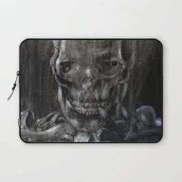 Death Smokes Laptop Sleeve
