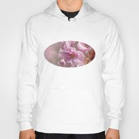 cherry blossom Hoodies featuring Cherry Blossom by Fran Walding