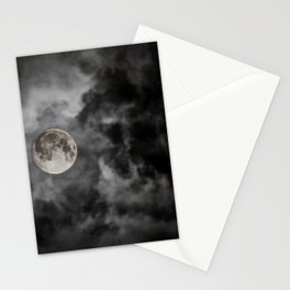 Black Night Stationery Cards