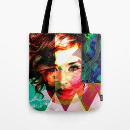 Pop Art Portrait Tote Bag
