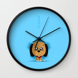 Wan Wan Wall Clock
