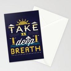 Take A Deep Breath Stationery Cards
