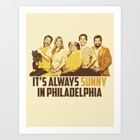 It's Always Sunny Characters Art Print