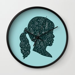 In a Science State of Mind Wall Clock