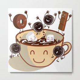 Hot chocolate! Metal Print