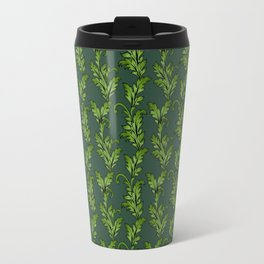 Vintage Baroque - Emerald Travel Mug