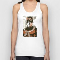tim burton Tank Tops featuring Tim by Shop 5