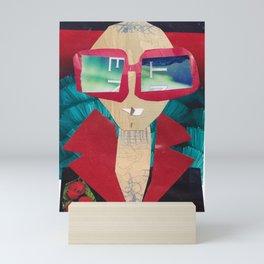 Rocket Man #PrideMonth Collage Portrait Mini Art Print