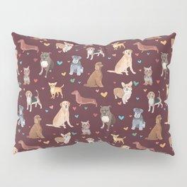 Dog LOVE Pillow Sham