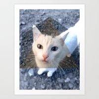 METRIC CAT Art Print