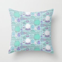 Witchcraft I Throw Pillow