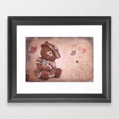 Dorothy in love Framed Art Print