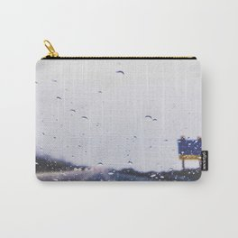 on the road with the rain storm Carry-All Pouch