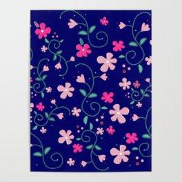 Elizabeth's flowers Poster