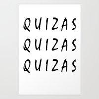 phrase Art Print