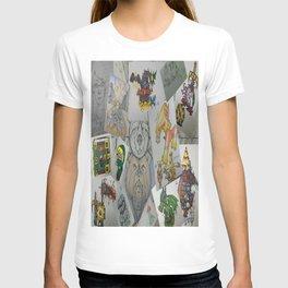 Collage Doodles T-shirt