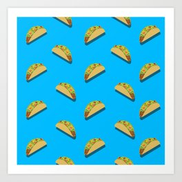 Let's Taco Bout This Art Print