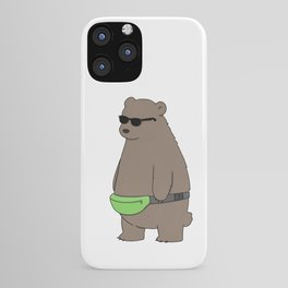 Cool Fanny Pack Bro iPhone Case