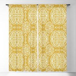 Festive Gold Blackout Curtain