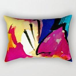 Soul Flower No. 20 by Kathy Morton Stanion Rectangular Pillow