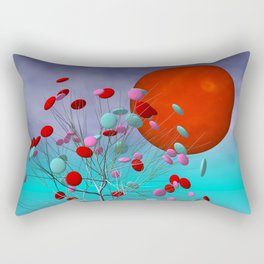 fancy tree and full moon -2- Rectangular Pillow