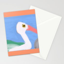 Swan on a Lake Stationery Cards