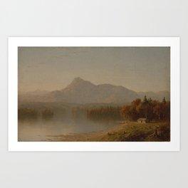 Sanford Robinson Gifford - Mountain Landscape Art Print