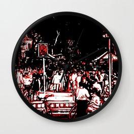 Las Ramblas Wall Clock