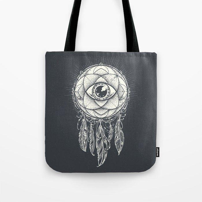 Dream catcher eye Tote Bag