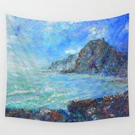 wild west Piha beach Wall Tapestry