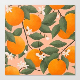 fresh citrus Canvas Print