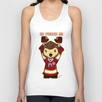 picard Tank Tops featuring Mini Picard by Kana Aiysoublood