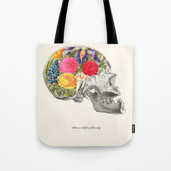 Politeness is the flower of humanity Tote Bag