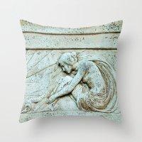 nouveau Throw Pillows featuring Nouveau by KClark Photography