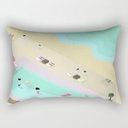 Love Island Rectangular Pillow