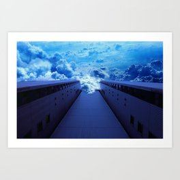 Altered Perspectives Art Print