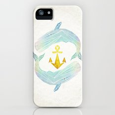 white whale Slim Case iPhone (5, 5s)