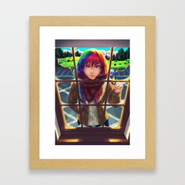 We see what we want to see Framed Art Print