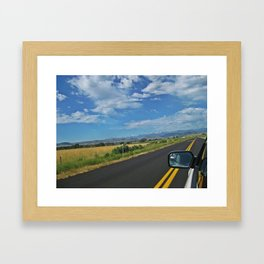 Traveling Framed Art Print