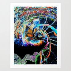 Stairway to Infinity Art Print