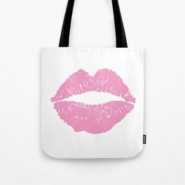 Light Pink Lips Tote Bag