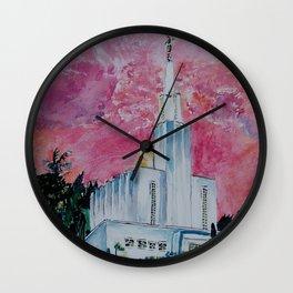 Bern Switzerland LDS Temple Wall Clock