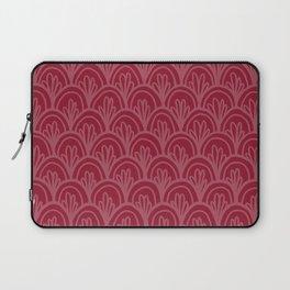 Raspberry Fancy Scale Pattern Laptop Sleeve