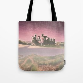 Conway Castle (Digital Art) Tote Bag