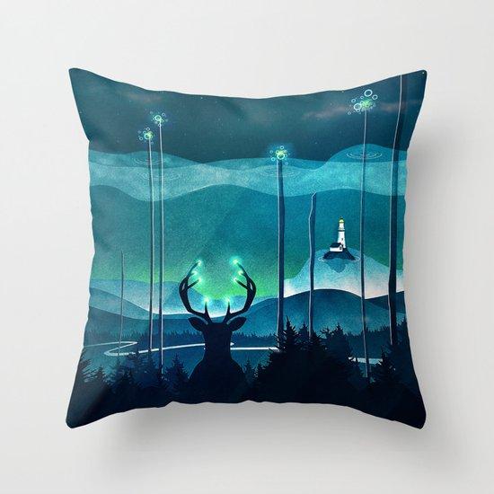 Keeper of the Light Throw Pillow