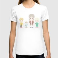 golden girls T-shirts featuring Girls in their Golden Years by Ricky Kwong