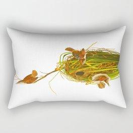 Marsh Wren Rectangular Pillow